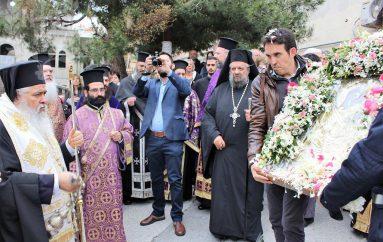 Η Νεάπολη υποδέχθηκε εικόνα της Παναγίας Πορταϊτισσας (ΦΩΤΟ)