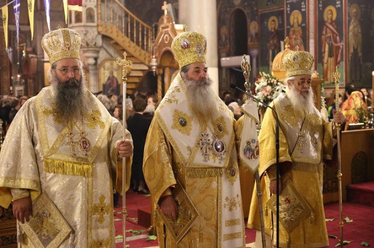 Λαμπρός ο εορτασμός των Φθιωτών Αγίων στη Λαμία (ΦΩΤΟ)
