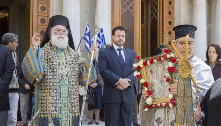 Ο εορτασμός της 25ης Μαρτίου στο Πατριαρχείο Αλεξανδρείας (ΦΩΤΟ)