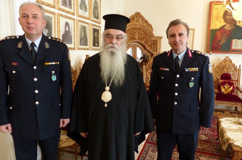 Στον Μητροπολίτη Καστορίας ο νέος Γεν. Αστυνομ. Δ/ντης Δυτ. Μακεδονίας