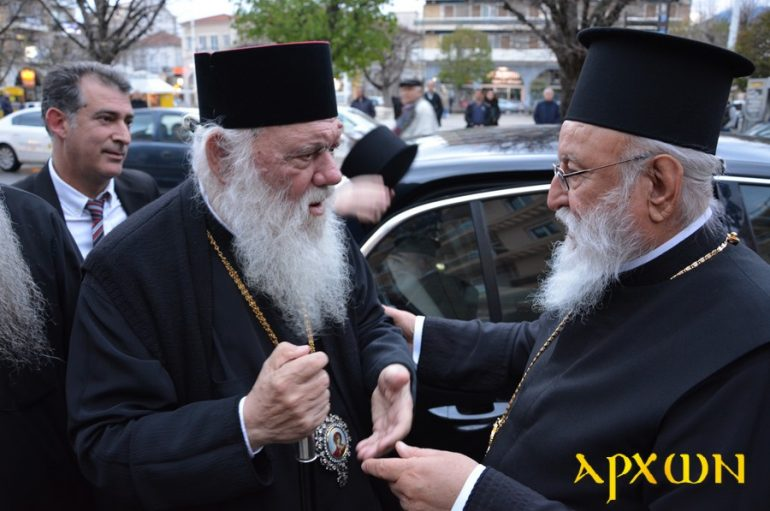 Προσφορά Αγάπης από τον Αρχιεπίσκοπο Ιερώνυμο στην Τρίπολη (ΦΩΤΟ – ΒΙΝΤΕΟ)