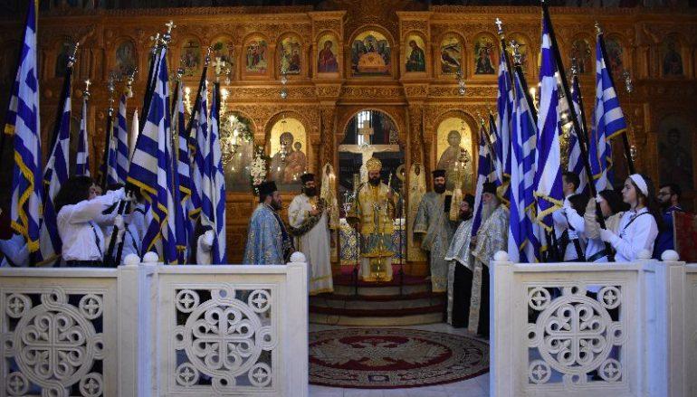 Η εορτή του Ευαγγελισμού στην Ι. Μ. Μαρωνείας (ΦΩΤΟ)