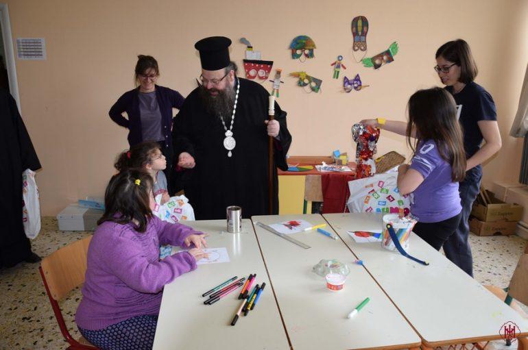 Επισκέψεις του Μητροπολίτη Μεγάρων σε Ειδικά Σχολεία (ΦΩΤΟ)