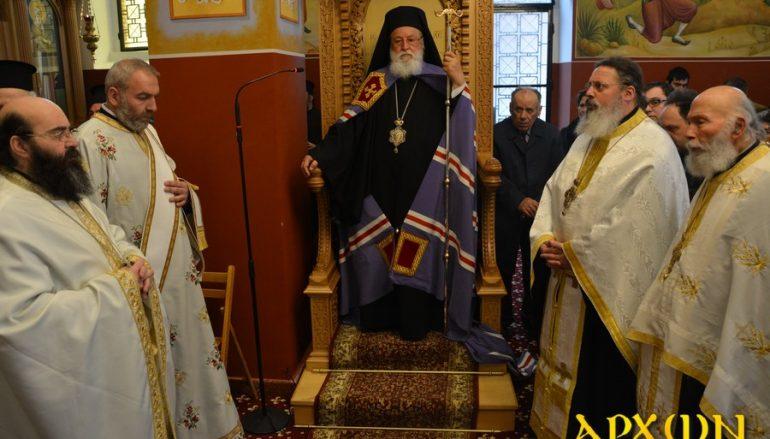 Μεθέορτος Εσπερινός του Ευαγγελισμού της Θεοτόκου στην Ι. Μ. Μαντινείας (ΦΩΤΟ)