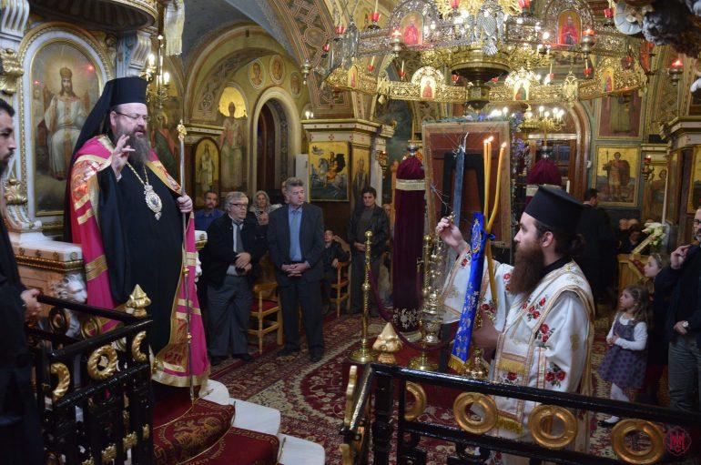 Δ´ Χαιρετισμοί της Υπεραγίας Θεοτόκου στα Αμπελάκια Σαλαμίνος (ΦΩΤΟ)
