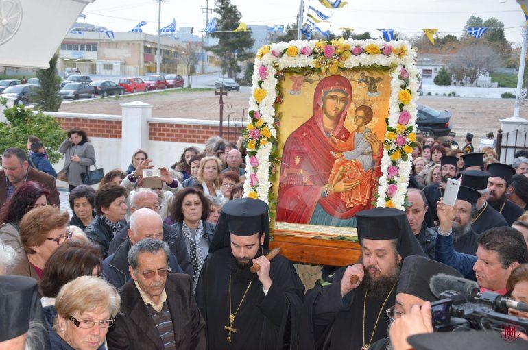 Εσπερινός για τον Πολιούχο της Ι. Μ. Μεγάρων Άγιο Λαυρέντιο (ΦΩΤΟ)