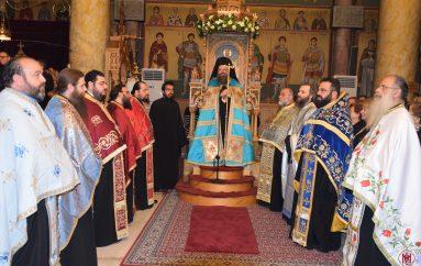 Εσπερινός στον Ιερό Ναό Ευαγγελισμού της Θεοτόκου Ασπροπύργου (ΦΩΤΟ)