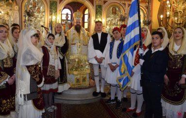 Η εορτή του Ευαγγελισμού της Θεοτόκου στις Ερυθρές (ΦΩΤΟ)