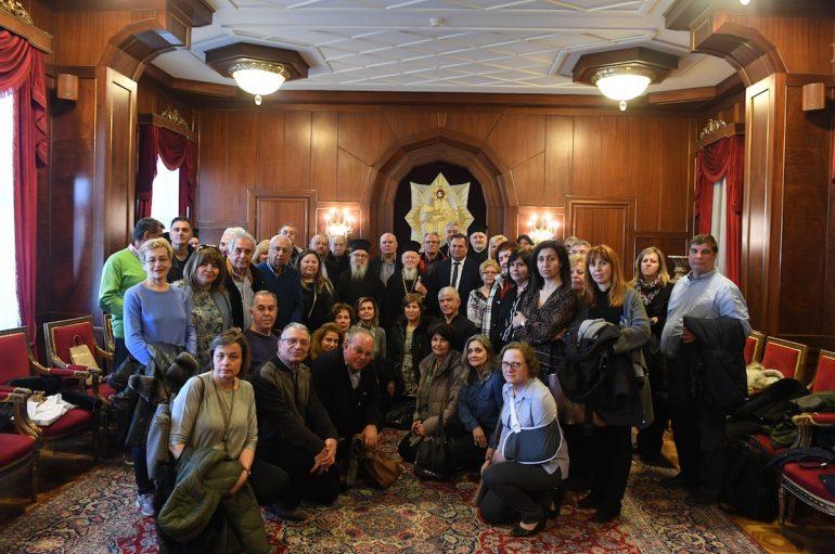 Στον Οικ. Πατριάρχη προσκυνητές από το Δήμο Νέας Προποντίδας Χαλκιδικής