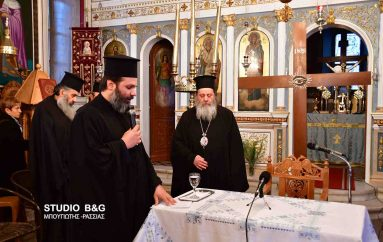 Ο Επίσκοπος Κερνίτσης ομιλητής στο Μαλαντρένι Αργολίδος (ΦΩΤΟ)