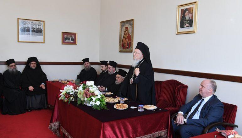 """Οικ. Πατριάρχης: """"Στον 21ο αιώνα είναι αδιανόητο να ζει κανείς με εσωστρέφεια και αυτάρκεια"""""""