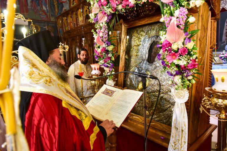 Δ΄ Στάση των Χαιρετισμών στην Ι. Μητρόπολη Λαγκαδά (ΦΩΤΟ)
