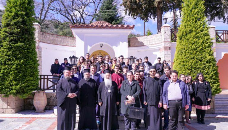 Επίσκεψη μαθητών του Εκκλησιαστικού Λυκείου Νεαπόλεως στην Ι. Μ. Βεροίας