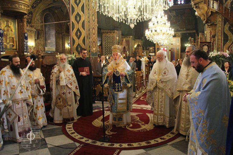 Ο εορτασμός του Ευαγγελισμού της Θεοτόκου στην Άμφισσα (ΦΩΤΟ)