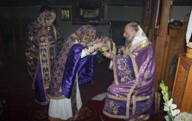 Προηγιασμένη Θ. Λειτουργία στον Ι. Ναό Αγ. Σπυρίδωνος Λόφου Φαρσάλων