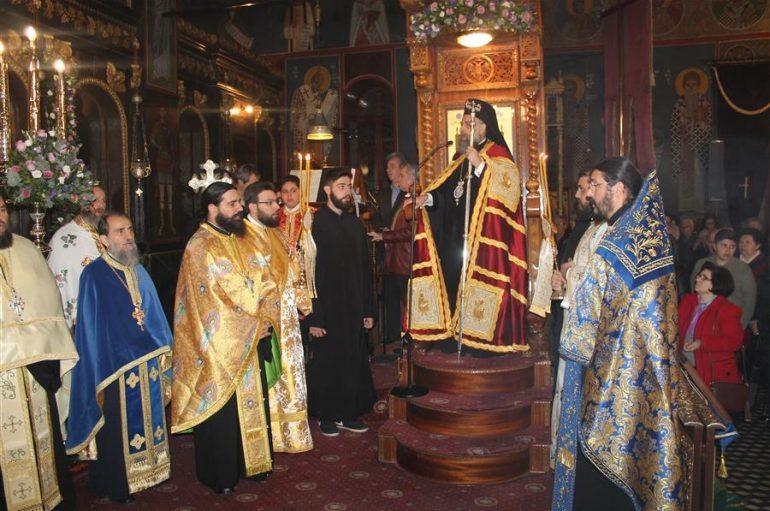 Αρχιερατικός Εσπερινός της εορτής στον Ι. Ναό Ευαγγελιστρίας Καρδίτσης (ΦΩΤΟ)