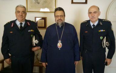 Στον Μητροπολίτη Μεσσηνίας ο Περιφ. Aστυνομ. Δ/ντής Πελοποννήσου