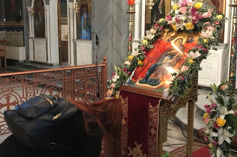 Η Μητρόπολη Κίτρους υποδέχθηκε την Παναγία Εγκυμονούσα (ΦΩΤΟ)