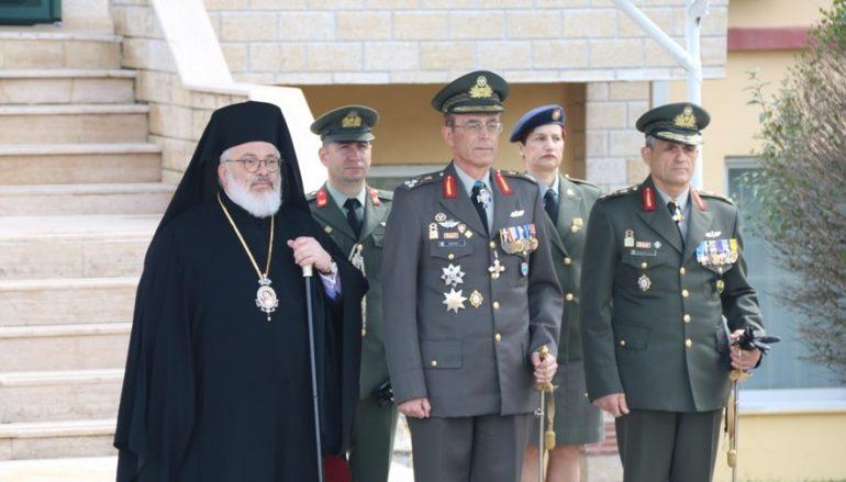 Ο Μητροπολίτης Διδυμοτείχου στην Αλλαγή Φρουράς της XVI Μεραρχίας