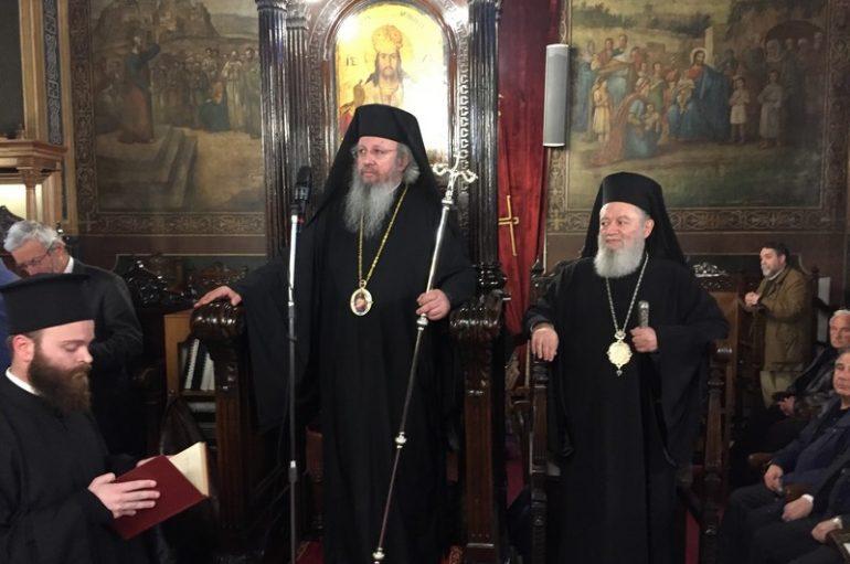 Ο Επίσκοπος Φαναρίου στον Γ΄ Κατανυκτικό Εσπερινό στην Χαλκίδα (ΦΩΤΟ)