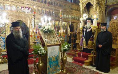 Μεθέορτος Εσπερινός του Ευαγγελισμού στην Ι. Μ. Καστορίας (ΦΩΤΟ)