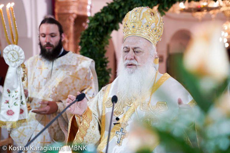 Η εορτή του Αγίου Λαζάρου στην Ι. Μητρόπολη Βεροίας (ΦΩΤΟ)