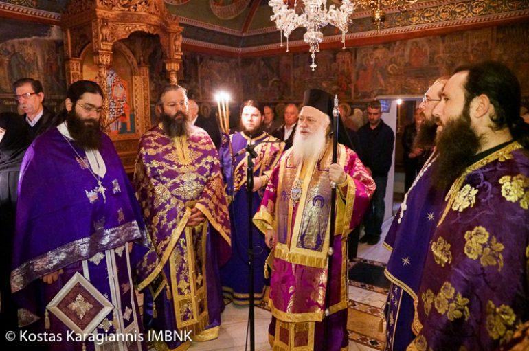 Η εορτή του Οσίου Χριστοδούλου του εν Πάτμω στην Μονή Αγ. Πάντων Βεργίνας