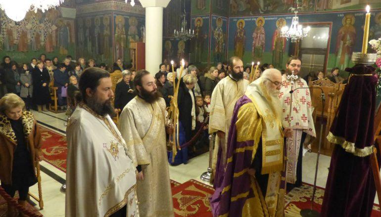 Η Β' Στάση των Χαιρετισμών στην Ι. Μητρόπολη Καστορίας (ΦΩΤΟ – ΒΙΝΤΕΟ)