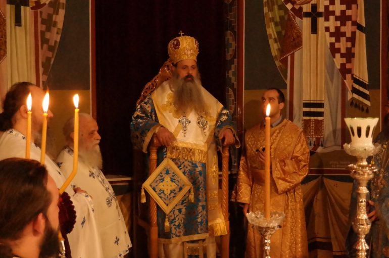 Η εορτή του Ευαγγελισμού της Θεοτόκου στην Καλαμπάκα (ΦΩΤΟ)