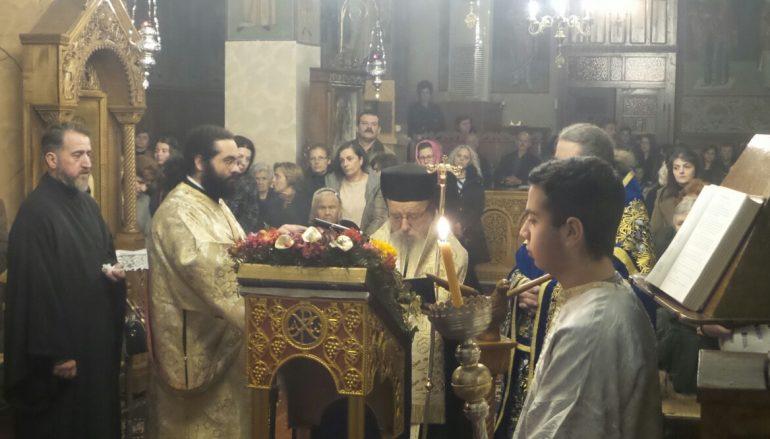 Δ΄ Χαιρετισμοί στον Ι. Ν. Αγίου Νικολάου Σταμνάς Μεσολογγίου