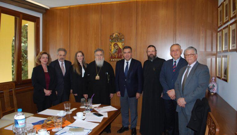 Συνεργασία της Εκκλησίας της Ελλάδος με τον Τομέα Τουρισμού της Ν.Δ.