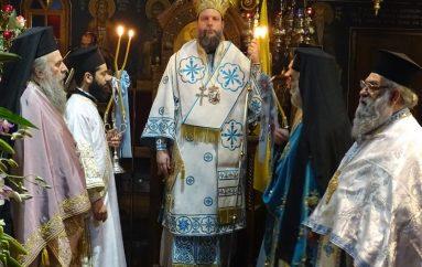 Η εορτή του Ευαγγελισμού της Θεοτόκου στην Ι. Μ. Νέας Ιωνίας (ΦΩΤΟ)