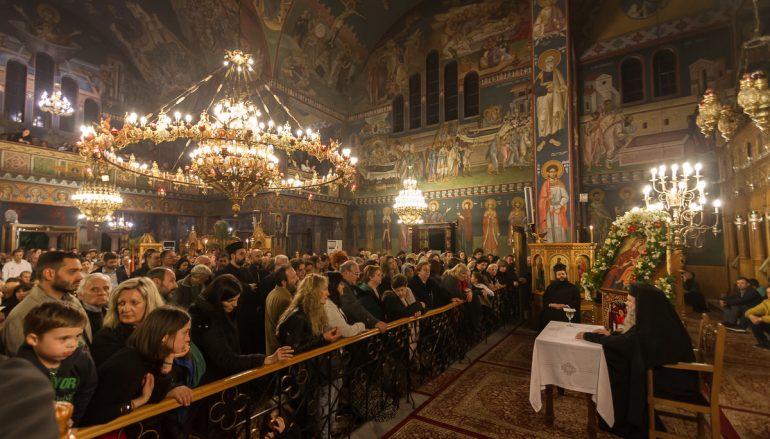Ομιλία του Καθηγουμένου της Ι. Μονής Οσίου Δαυίδ στην Ι. Μ. Νέας Ιωνίας (ΦΩΤΟ)