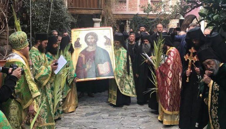 Μοναχική κουρά και χειροτονία Ιερέα στην Ι. Μονή Δοχειαρίου Αγίου Όρους