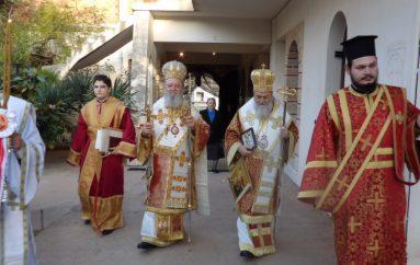 Πανηγύρισε η Ιερά Μονή Αναστάσεως του Χριστού Λουτρακίου (ΦΩΤΟ)