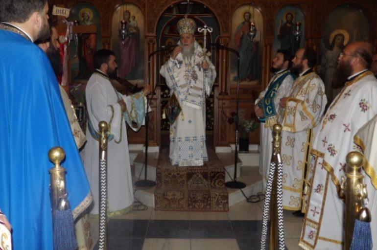 Η εορτή του Αγίου Λεωνίδη και των επτά Αγ. Μαρτύρων Γυναικών στην Κόρινθο