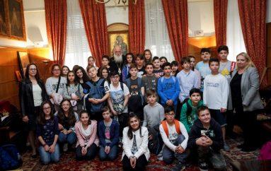 Μαθητές Δημοτικού Σχολείου από την Χαλκίδα στον Αρχιεπίσκοπο