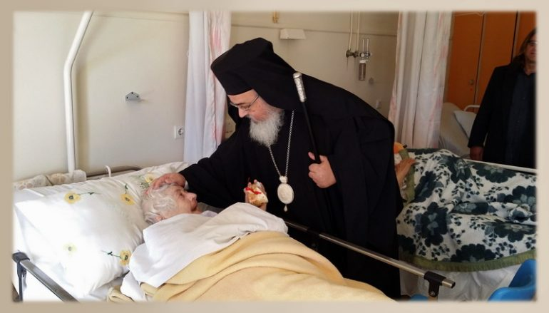 Πασχάλια επίσκεψη του Μητροπολίτη Πρεβέζης σε Νοσοκομείο (ΦΩΤΟ)