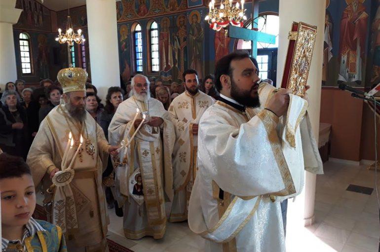 Εορτή των Αγίων Ραφαήλ, Νικολάου και Ειρήνης στην Ι. Μ. Θεσσαλιώτιδος