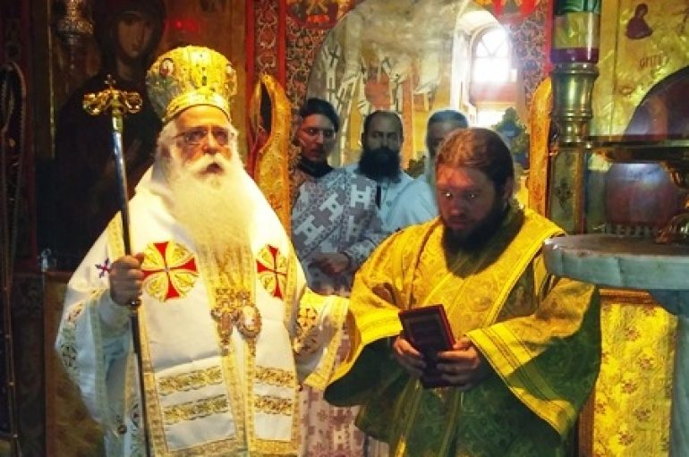 Χειροτονία Διακόνου στην Ι. Μονή Αγίου Παντελεήμονος Αγιάς (ΦΩΤΟ)