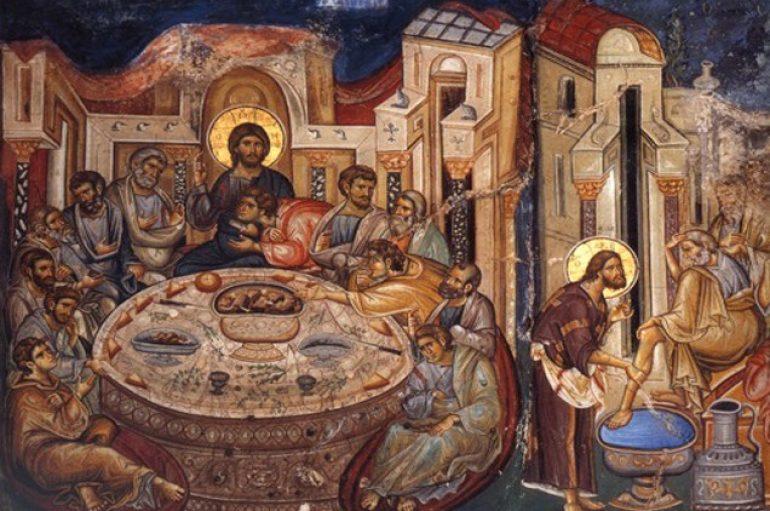 «Ο διακονών Δεσπότης» του θεολόγου Παντελεήμονα Λεβάκου