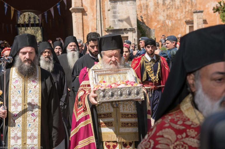 Τα Χανιά υποδέχθηκαν την χείρα της Αγίας Μαρίας Μαγδαληνής (ΦΩΤΟ)