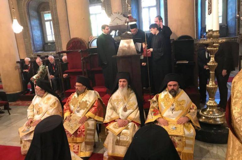 Πατριαρχική και Συνοδική Θ. Λειτουργία στην Ι. Μονή Βαλουκλή (ΦΩΤΟ)
