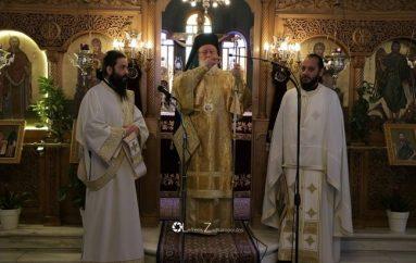 Κυριακή των Βαΐων στον Ι. Ναό του Αγίου Ραφαήλ Τρίπολης (ΦΩΤΟ)