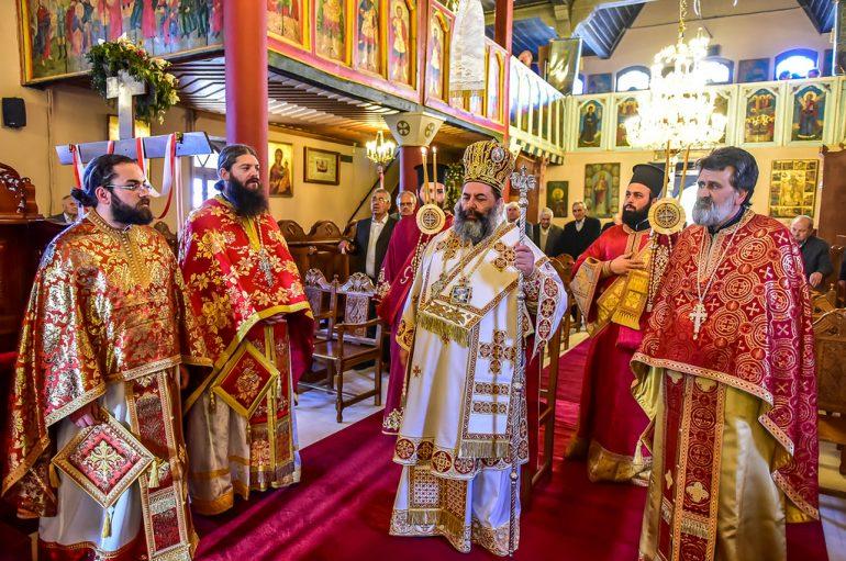 Η εορτή του Αγίου Γεωργίου του Τροπαιοφόρου στην Ι. Μ. Λαγκαδά (ΦΩΤΟ)