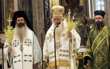Κυριακή των Βαΐων στον Καθεδρικό Ναό Αθηνών (ΦΩΤΟ)