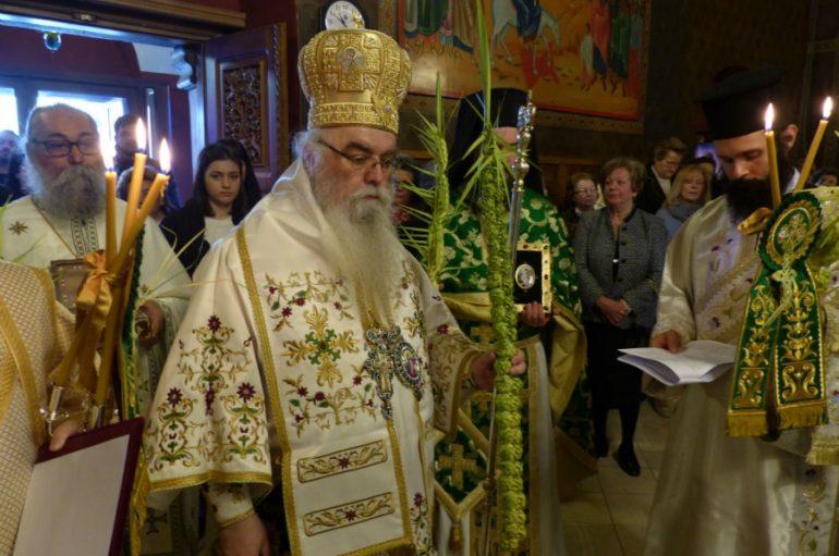 Η Κυριακή της Βαϊοφόρου στην Ι. Μητρόπολη Καστορίας (ΦΩΤΟ)