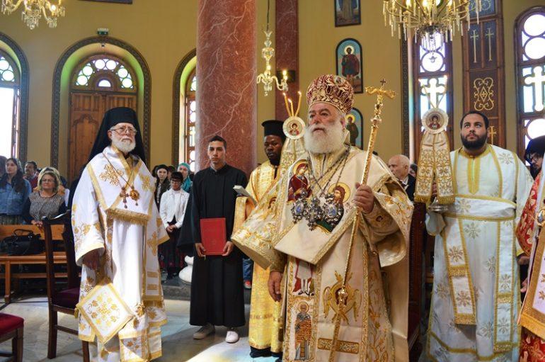 Λαμπρή Πανήγυρη του Αγίου Γεωργίου Παλαιού Καΐρου (ΦΩΤΟ)