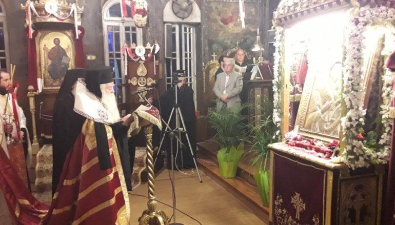 Η Απόδοση της εορτής της Παναγίας Τρυπητής (ΦΩΤΟ)