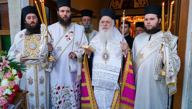 Η Εορτή των Αγ. Ραφαήλ, Νικολάου και Ειρήνης στην Ι. Μ. Βεροίας (ΦΩΤΟ)